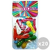 Set 20 Palloncini bombette * 25 pz. - articoli per le feste