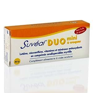 SUVEAL DUO A CROQUER 30 COMPRIMES