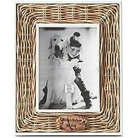 Riviera Maison Rustic Rattan - Bilderrahmen Fotorahmen Rahmen - 13 x 18 cm