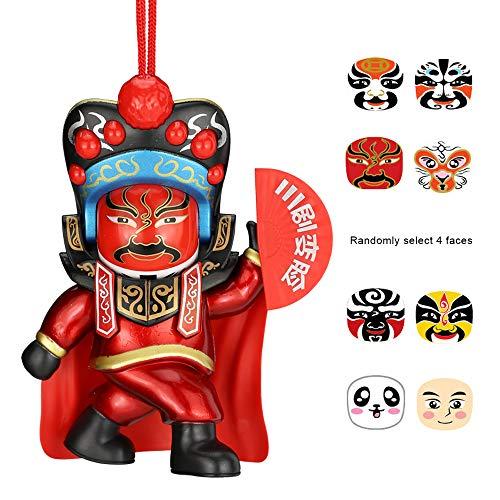 ZHANG YANG Gesichtsveränderndes Spielzeug, Geschenke Im Chinesischen Stil, Souvenirs, (Bilder Verschiedenen Nationalen Kostümen)