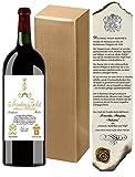 """Magnum Weingeschenkset Baron Philippe de Rotschild""""Edition Vintage"""" Mouton Bordeaux Retro"""