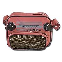 by soljo Bag **rose ** Jukebox Music Handbag Sportsbag new Club vintage 27x 19 x 12 cm
