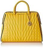 Versace Jeans Damen Ee1vpbby1_e75620 Henkeltasche, Gelb, 16 x 30 x 38 cm