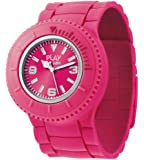 ODM Flip Unisex Quartz Watch with Pink Dial Analogue Display and Pink Silicone Strap PP001-03