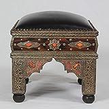 Orientalischer Marokkanischer Hocker Hana