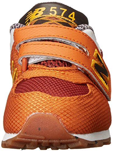 New Balance Kg574 T3i, Chaussures Mixte Enfant Orange