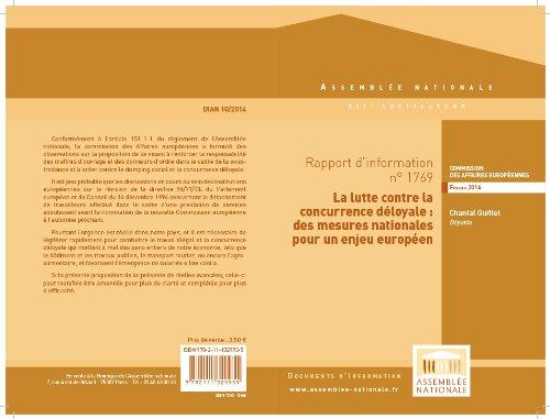 Couverture du livre Rapport d'information portant observations sur la proposition de loi visant à renforcer la responsabilité des maîtres d'ouvrage et des donneurs d'ordre ... et la concurrence déloyale (n° 1686),