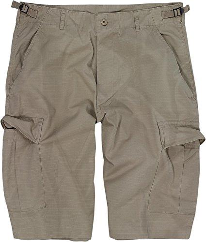 normani US Bermuda Shorts aus Ripstop-Gewebe (Baumwolle) [XS-4XL] Farbe Khaki Größe L -