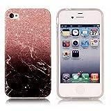 Alfort Coque iPhone 4 / 4S, Housse iPhone 4 / 4S, Etui de Protection Folio en TPU...