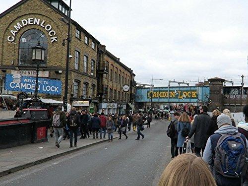 Camden Market London + Kerb Street Food Market