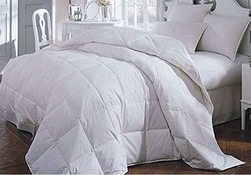 Luxury Siberian White Goose Down King Bed Size 4.5 Tog Duvet by Viceroybedding
