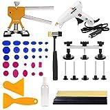 LucaSng 51 Pezzi Kit PDR di Strumenti per Paintless Dent Repair
