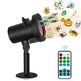 Senden Sie Überraschung Projektor Licht, MEIKEE LED Lichteffekt Dekoration Lichter Wasserdichte Projektionslampe 12 Aus
