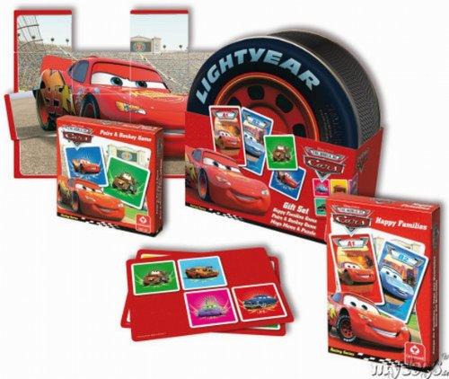 Preisvergleich Produktbild ASS Altenburger Spielkarten 79211 - Cars Geschenkset