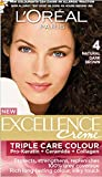 #5: L'Oreal Paris Excellence Creme, Natural Dark Brown 04, 72ml+100gm