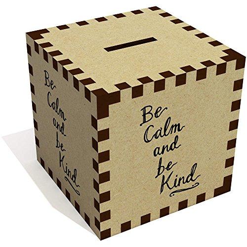 Azeeda 'Be Calm Be Kind' Caja Dinero / Hucha MB00052987