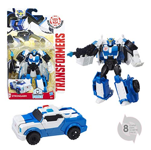 B0910ES0 - Robots in Disguise Warriors Strongarm, Actionfigur ()