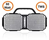 Zoook Rocker Volcano 60 Watts TWS Bluetooth Speaker - Extra Loud - Extra