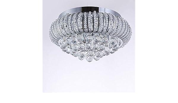 Plafoniere Contemporanee : Moderno contemporaneo plafoniera elegante cristallo bicchiere