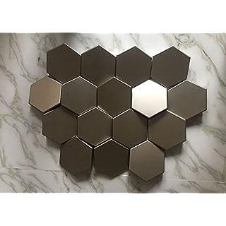 3D Wall Norm ANTHRACITE   Beeindruckende Wandverkleidung in 3D-Look für Küche, Wohnzimmer, Flur und Büroräume