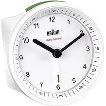 Braun BNC007WHWH-DCF Funkwecker, weiß