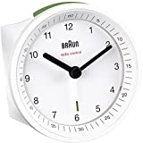 Best Despertadores Braun - Braun BNC007WHWH - Reloj despertador analógico blanco Review