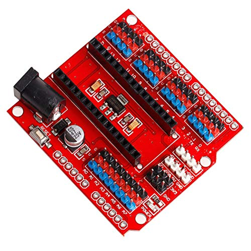 SODIAL Placa de Extension I/O Escudo Prototipo Nano V3.0 de Electronica Inteligente Modulo de Expansion para Arduino DIY Kit