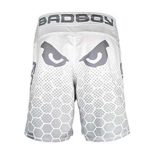 Bad Boy Unisex Legend 3.0 Sport-Short weiß/Grau