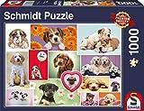 Schmidt Spiele Freunde auf Vier Pfoten Puzzle - Rompecabezas (Puzzle Rompecabezas, Animales, Niños y Adultos, Freunde auf Vier Pfoten, Perro, Niño/niña)