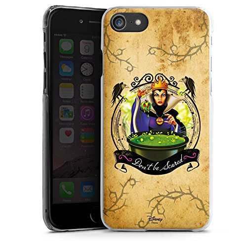 Apple iPhone 7 Plus Silikon Hülle Case Schutzhülle Walt Disney Schneewittchen Hexe Geschenk Hard Case transparent