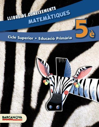 Matemàtiques 5è cs llibre de coneixements (ed 2014) (materials educatius - cicle superior - matemàtiques) - 9788448933
