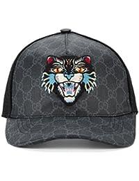 Gucci Homme 4268874HB981060 Noir Coton Chapeau