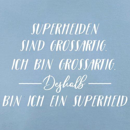Ich Bin Grossartig - Superheld - Herren T-Shirt - 13 Farben Himmelblau