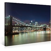 Foto en lienzo NEW YORK CITY Impresión artística en lienzo, creado por Tom Harris, Cuadros en lienzo previamente fijados, listos para ser colgados. AmazonES - Comparable con un cuadro al óleo - y no a un póster o cartel 100x75cm #e3454