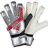 adidas Herren Predator Top Training Fingersave Torwarthandschuhe, Silver met./Black, 10.5