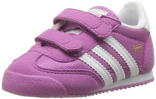 Adidas Originals Dragon CF I, Baskets mode Baby Girl Purple Size: 5 UK