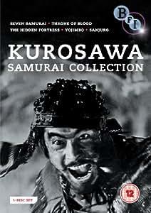 Kurosawa: Samurai Collection (5 Dvd) [Edizione: Regno Unito] [Import anglais]