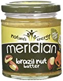 MERIDIAN FOODS - No GM Soya Brazil Nut Butter 170g (PACK OF 1)