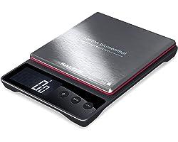 Salter Balance de cuisine numérique digitalle Heston Blumenthal - Capacité 5 kget Précision 0,5 g - Accessoire élégant, , mét