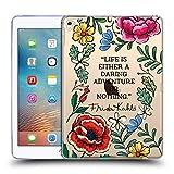 Head Case Designs Officiel Frida Kahlo Aventure Audacieuse Art Et Citations Étui Coque en Gel Molle pour iPad Pro 9.7 (2016)