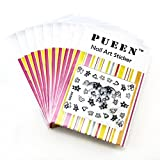 Pueen 3 D Nail Art Sticker Collection Set Xh503 And Xh505 10 Packs In 2 Styles (Over 240 Stickers) 3 D Rhinestone Sparkling Nail Art Decal Stickers Fo