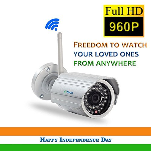 Ifitech Bt1.3 Outdoor Hd 960p Wireless Security Watch Live On Your Smart Phone Using Ifiview App