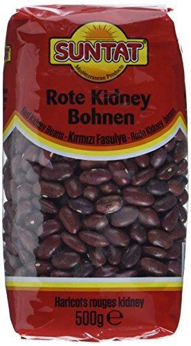 SUNTAT Rote Kidneybohnen , 2er Pack (2 x 500 g Packung)