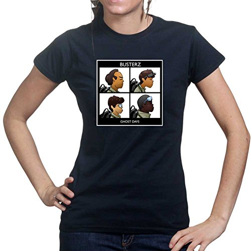 Customised_Perfection Gorilla Busters Ghost Ladies T Shirt (Tee, Top)