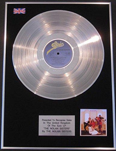 'Nolan Sisters-LP Platinum Disc-la Nolan Sisters