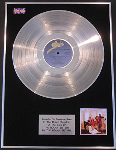 "Nolan ""Sisters-Platinum-Nolan Sisters disco LP"
