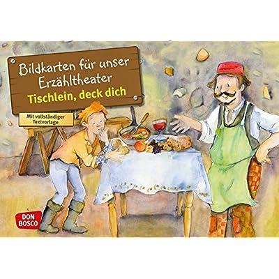 Tischlein, deck dich. Kamishibai Bildkartenset.: Entdecken. Erzählen. Begreifen: Märchen.