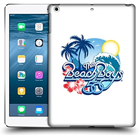 Ufficiale The Beach Boys Logo anniversario 50 anni Arte Chiave Cover Retro Rigida per Apple iPad Air - 50 ° Anniversario Prova