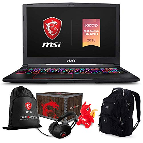 "MSI GE75 Raider 049 1920x1080 ME2 - MSI GE75 Raider-049 Gaming and Business Laptop (Intel i7-8750H, 32GB RAM, 4TB PCIe SSD, 17.3"" FHD 1920x1080 IPS Display, NVIDIA RTX 2070, Win 10 Pro) MSI Loot Box and ME2 Backpack"