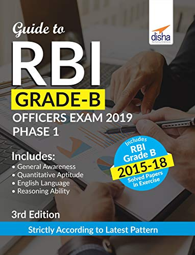 Guide to RBI Grade B Officers Exam 2019 Phase 1 - 3rd Edition